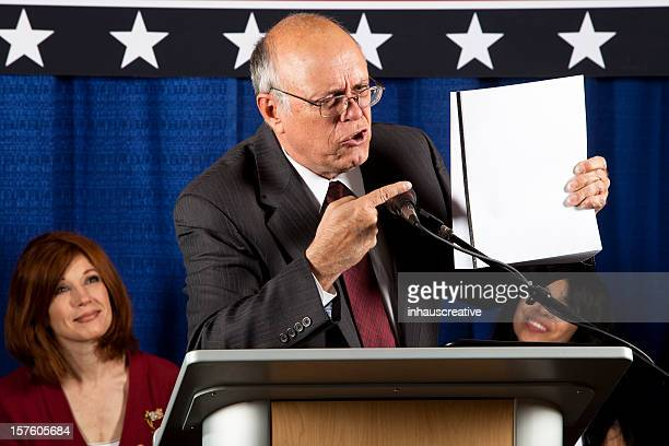 politician proposing a new bill - politician stock pictures, royalty-free photos & images
