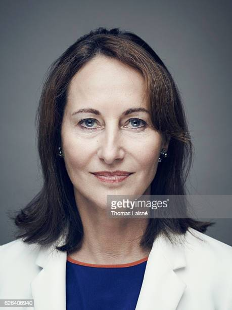 Politician Ségolène Royal is photographed for Self Assignment on November 20 2016 in Paris France