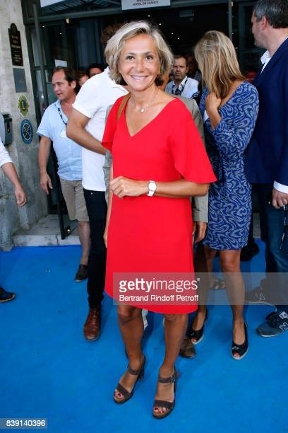 Politician Valerie Pecresse attends the 10th Angouleme FrenchSpeaking Film Festival Day Four on August 25 2017 in Angouleme France
