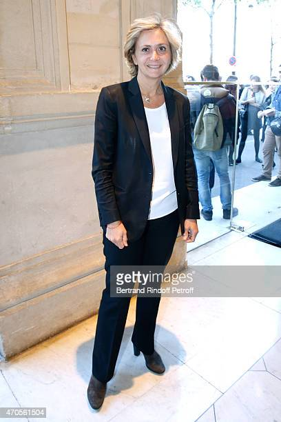Politician Valerie Pecresse attends the Concert in Memory of 100th Anniversary of Armenian Genocide at Theatre du Chatelet on April 21 2015 in Paris...