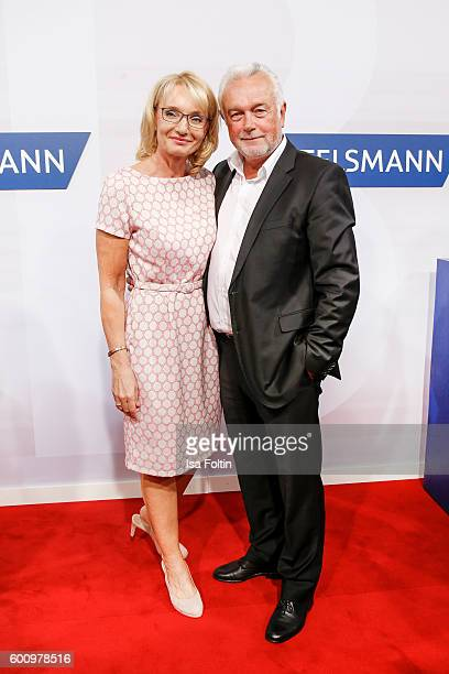 Politician Wolfgang Kubicki and his wife Annette MarberthKubicki attend the Bertelsmann Summer Party at Bertelsmann Repraesentanz on September 8 2016...
