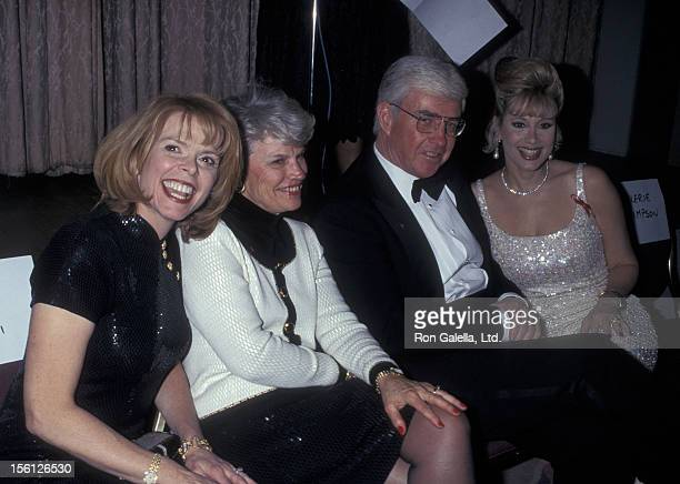Politicians Betsy McCaughey Ross and Jack Kemp wife and Rhonda Shear attend CORE Martin Luther King Jr Holdiay Celebration Awards on January 20 1997...