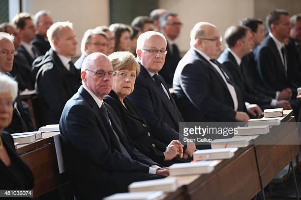 Politicians including German Chancellor Angela Merkel Bundestag President Norbert Lammert and German Christian Democrats Bundestag faction leader...