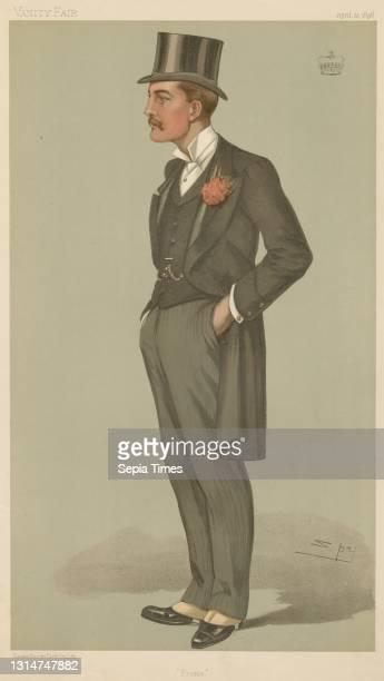 Politicians - Vanity Fair - 'Frome'. The Marquis of Bath. April 23 Leslie Matthew 'Spy' Ward, 1851–1922, British Chromolithograph.