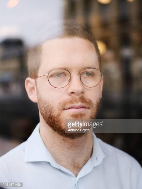 Politics advisor David Amiel poses for a portrait on March 5 2019 in Paris France