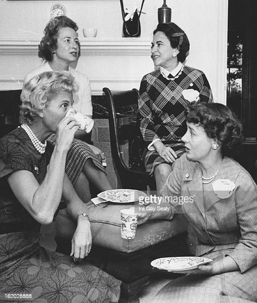 SEP 20 1959 SEP 23 1960 Politics at Potluck Foursome among more than 30 Denver women who attended Thursday's potluck buffet luncheon meeting of the...