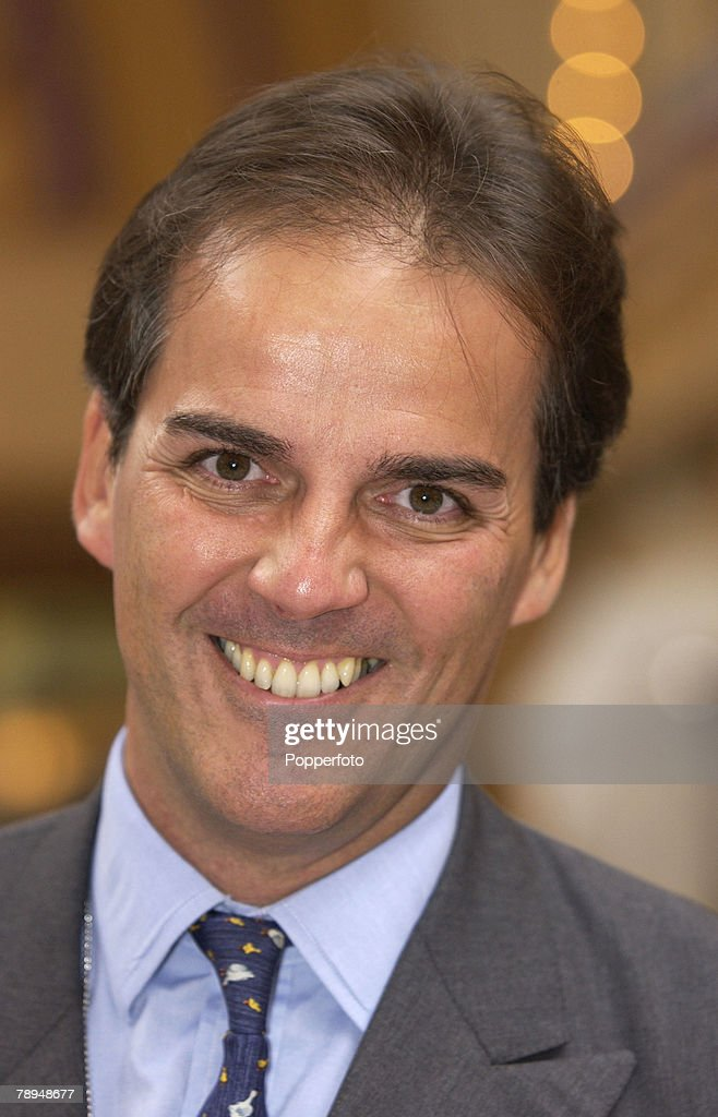 Politics. Blackpool, England. 7th October 2003. Conservative Party Conference. Mark Field, MP. : News Photo