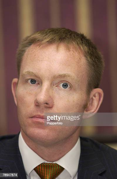 Politics Bournemouth England 30th September 2003 Labour Party Conference Chris Bryant MP