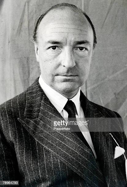 Politics England Circa 1960's Portrait of John Profumo Secretary of State for War