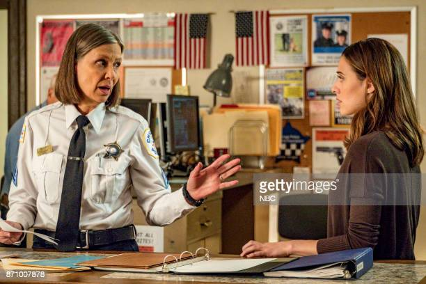 D 'Politics' Episode 508 Pictured Amy Morton as Trudy Platt Marina Squerciati as Kim Burgess