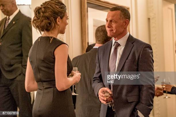 "Politics"" Episode 508 -- Pictured: Marina Squerciati as Kim Burgess, Jason Beghe as Hank Voight --"