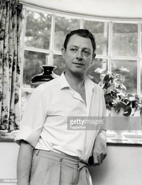 Politics London England Circa 1960's Dr Stephen Ward Osteopath Involved with Christine Keeler in the Profumo Scandal