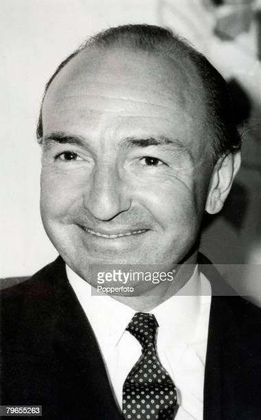Politics London England Portrait of John Profumo Secretary of State for War