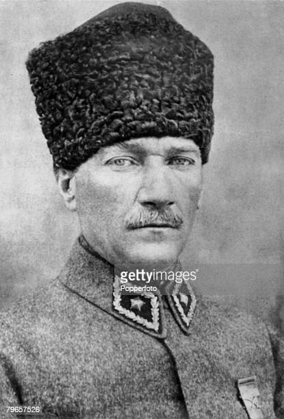 circa 1917 Kemal Ataturk Turkish politician and general under whose leadership the occupying Greeks were expelled from Turkey In 1923 he became the...