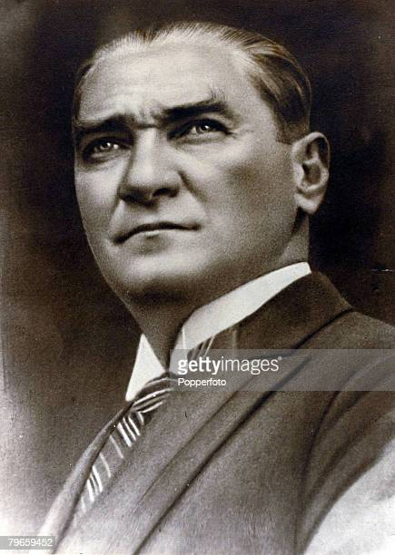 circa 1930 Kemal Ataturk portrait Kemal Ataturk 18811938 was a Turkish politician and general under his leadership the occupying Greeks were expelled...