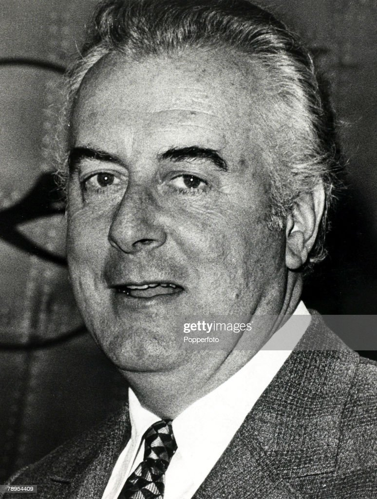 1970's, Gough Whitlam who became Australian Prime Minister, and served his office 1972-1975