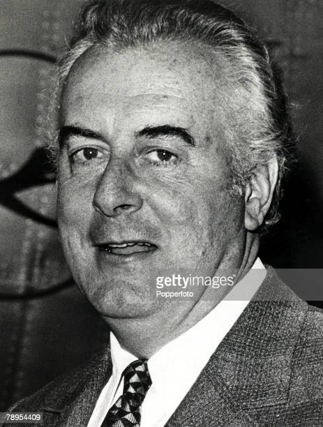 1970's Gough Whitlam who became Australian Prime Minister and served his office 19721975