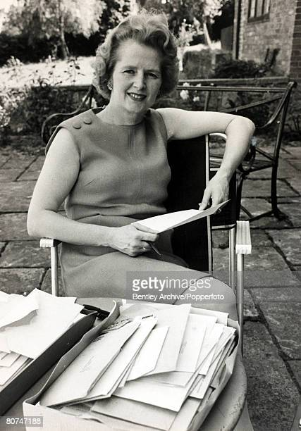 22nd June 1970 London England Margaret Thatcher the Conservative Secretary of State for Education the only woman of Edward Heath's cabinet Margaret...