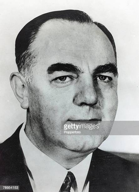Politics Personalities South Africa pic 13th September 1966 Balthazar Johannes Voerster the newly elected Prime Minister of South Africa