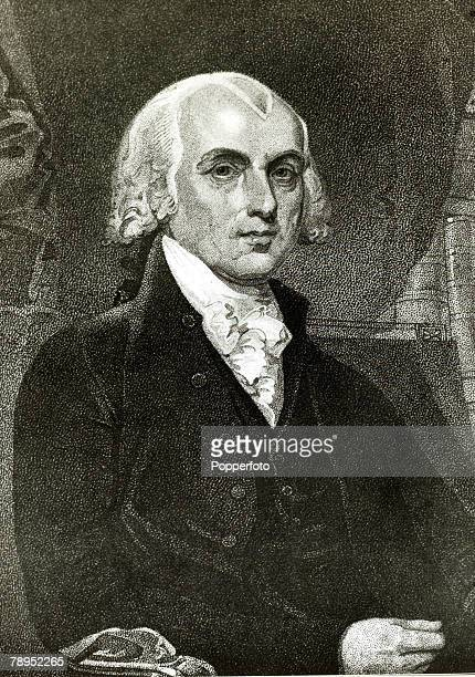 circa 1815 James Madison portrait James Madison became the 4th President of the United States 18091817