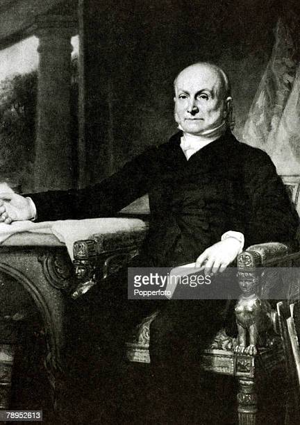 circa 1826 President John Quincy Adams portrait John Quincy Adams became the 6th President of the United States serving from 18251829 He was the...