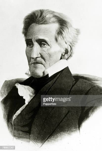 circa 1830 Andrew Jackson portrait A former Major General in the 1812 war against Britain Andrew Jackson known as 'Old Hickory' became the 7th...