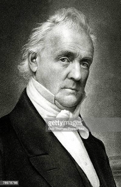 circa 1840 James Buchanan portrait James Buchanan the 15th President of the United States 18571861 who was the only President who never married