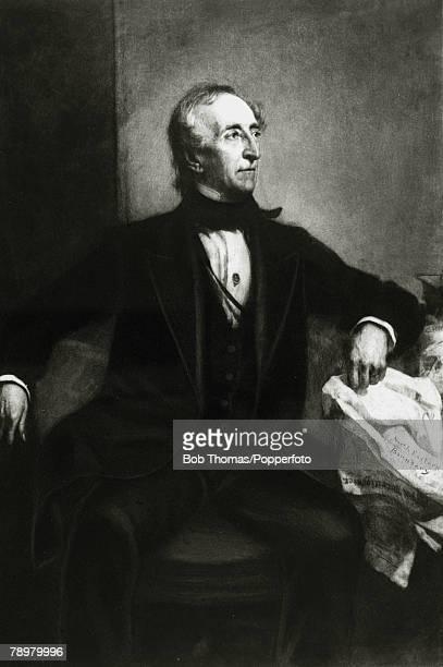 circa 1842 John Tyler portrait John Tyler became the 10th President of the United States