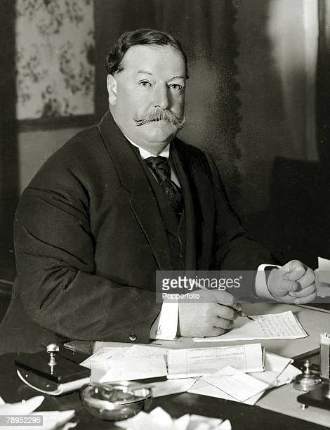 Politics, Personalities, USA, pic: circa 1910, William Howard Taft, portrait, William Taft became the 27th President of the United States 1909-1913,...