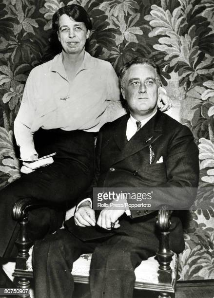 February 1933 New York The Presidentelect Franklin DRooseveltwith his wife Eleanor Roosevelt Franklin DRoosevelt became the 32nd President of the...