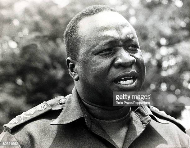April 1972 President Idi Amin Ugandan Dictator born 1925 Idi Amin seized power in 1971 and was responsible for the murder of thousands of Ugandans...