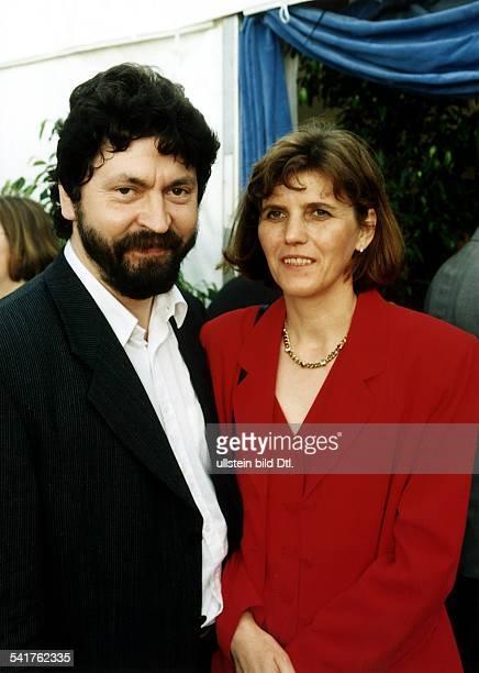 Politiker CDU DBürgermeister Berlin Mitte mit Ehefrau Helga Juni 1997