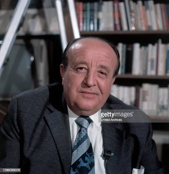 Politiker HERMANN HÖCHERL, Sendung im ZDF, März 1973.