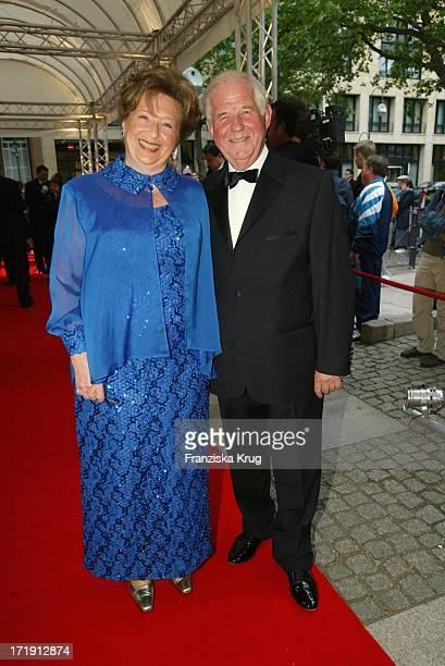 Politiker Kurt und Ingrid Biedenkopf Beim 6 Rosenball Zugunsten Der Deutschen SchlaganfallHilfe