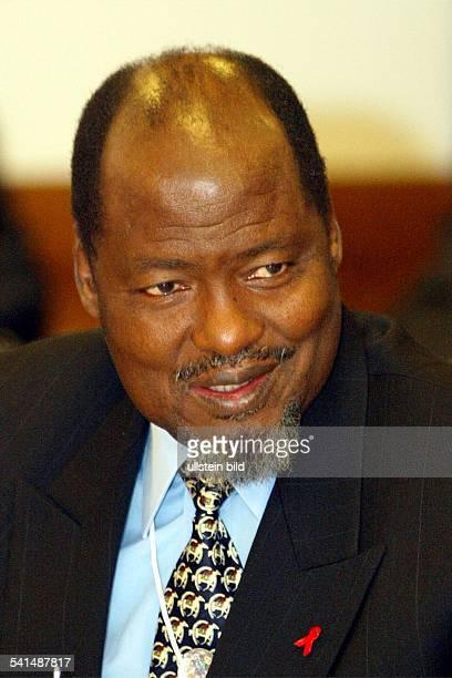 Politiker MosambikStaatspräsidentPorträt