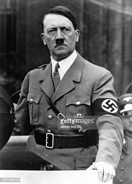 Politiker NSDAP D während einer Rede 1937