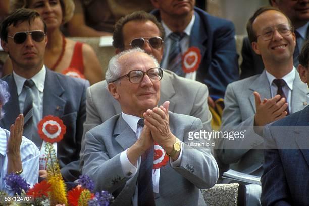 Politiker SED DDR Juni 1987