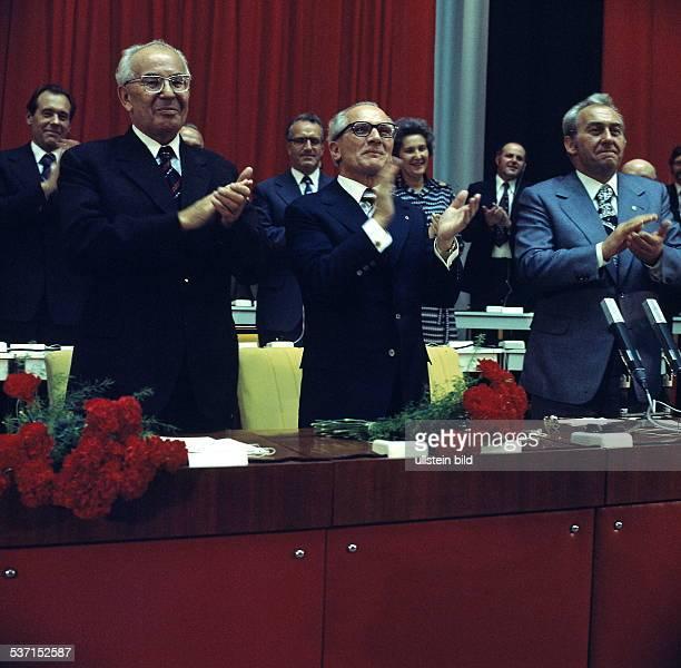 Politiker SED DDR zwischen Gustav Husak und Konrad Naumann oJ