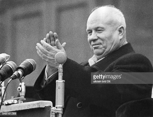 1894 1971 Politiker UdSSR Aufnahme um 1959