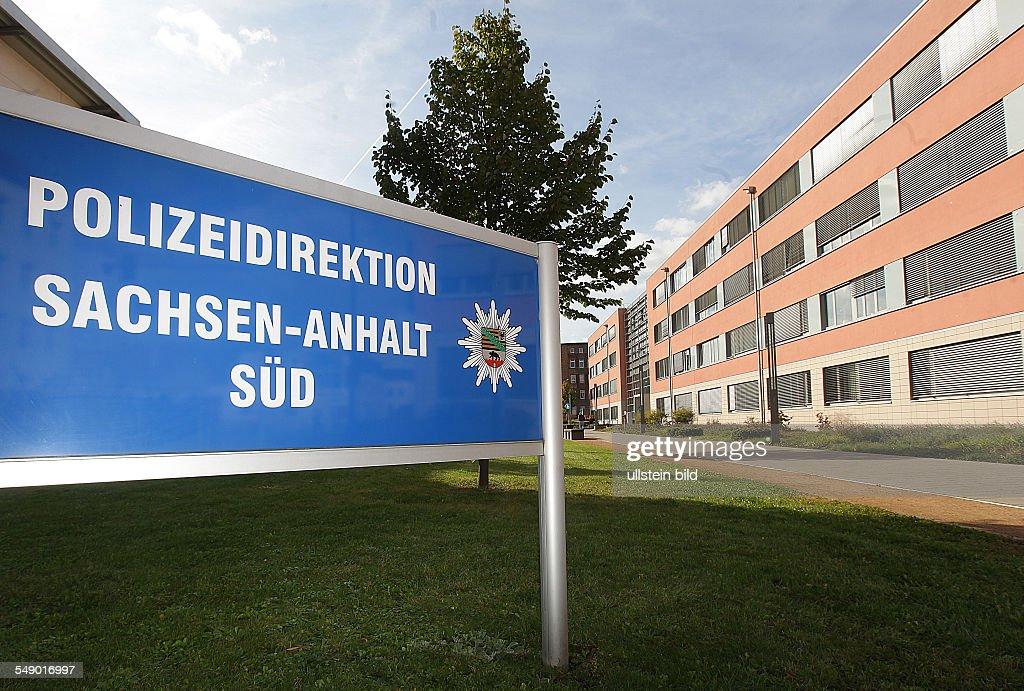 Halle / Saale, Polizeidirektion Sachsen-Anhalt : News Photo