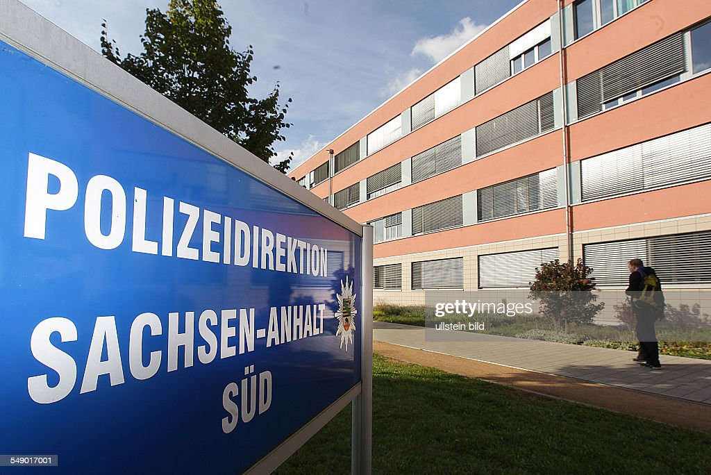 Halle / Saale, Polizeidirektion Sachsen-Anhalt : News Photo