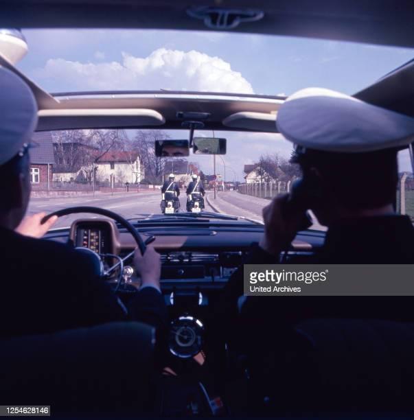 Polizeifunk ruft, Fernsehserie, Deutschland 1966 - 1970, Regie: Hermann Leitner, Szenenfoto.