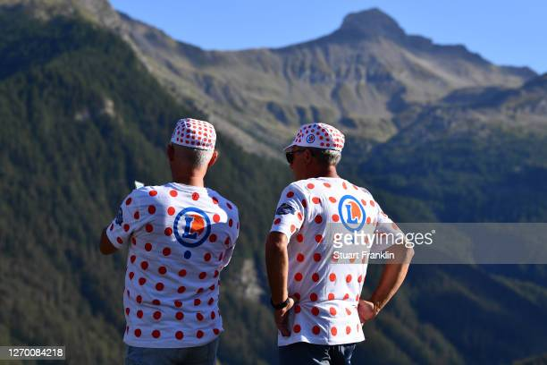 Polka Dot Mountain Jersey / Public / Fans / Detail view / during the 107th Tour de France 2020, Stage 4 a 160,5km stage from Sisteron to...