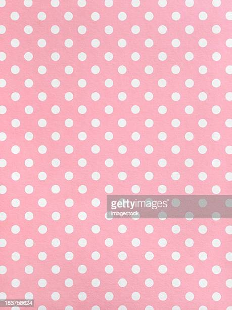 polka dot paper - polka dot stock pictures, royalty-free photos & images