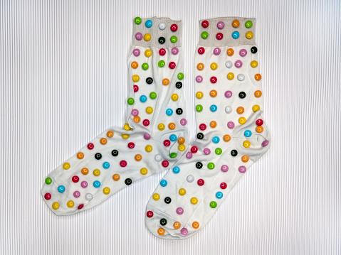polka dot socks - gettyimageskorea