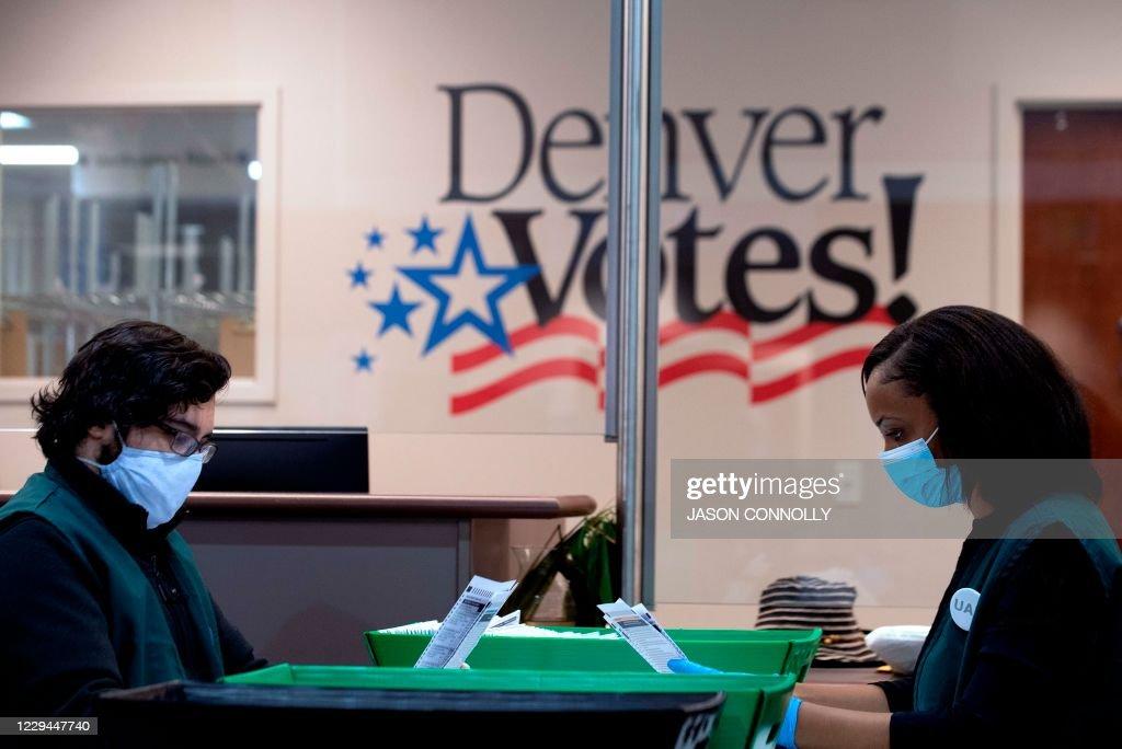 US-VOTE-COLORADO : News Photo