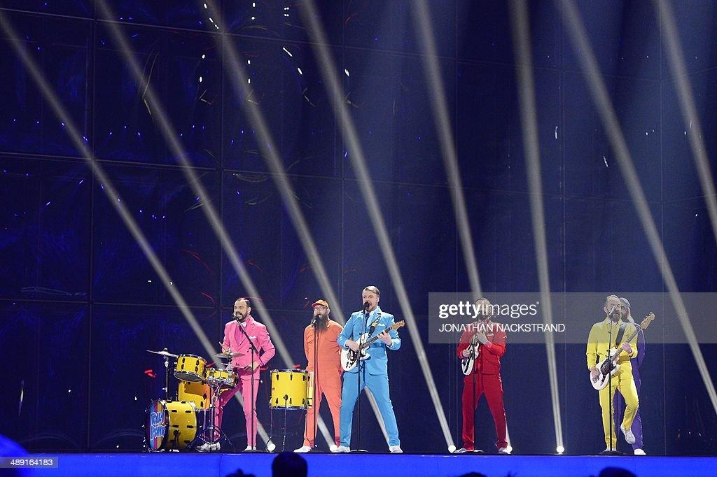 DENMARK-ENTERTAINMENT-EUROVISION-SONG-CONTEST : News Photo