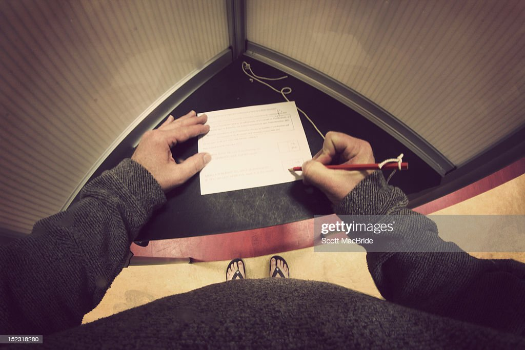 Polling day : Stock Photo