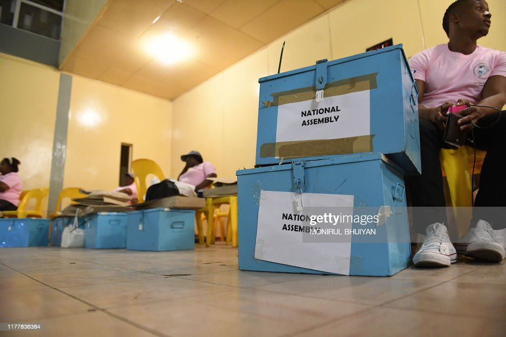 BOTSWANA-VOTE-POLITICS : News Photo