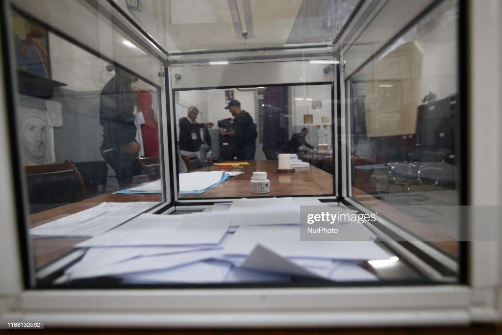 Presidential Election In Algeria : News Photo